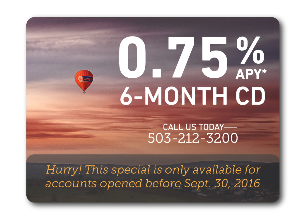 CD Deposit Special | Lewis and Clark Bank